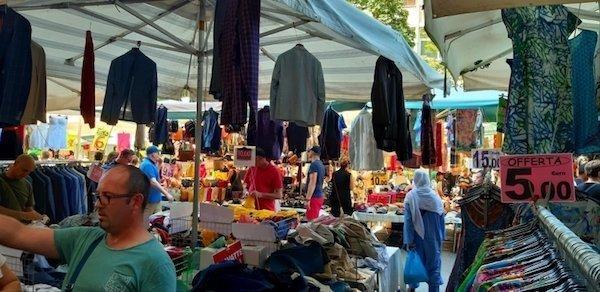 Market in Bologna