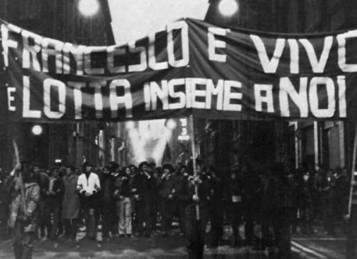student protest in Bologna