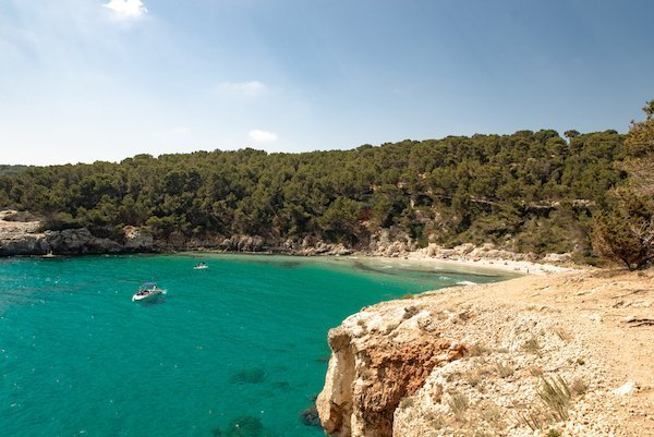 Best Mediterranean beaches off the beaten path in Cala Escorxada Menorca