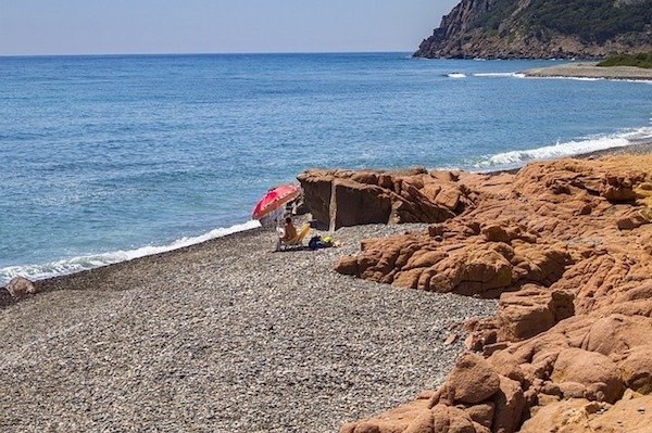 Coccorrocci Beach Sardinia