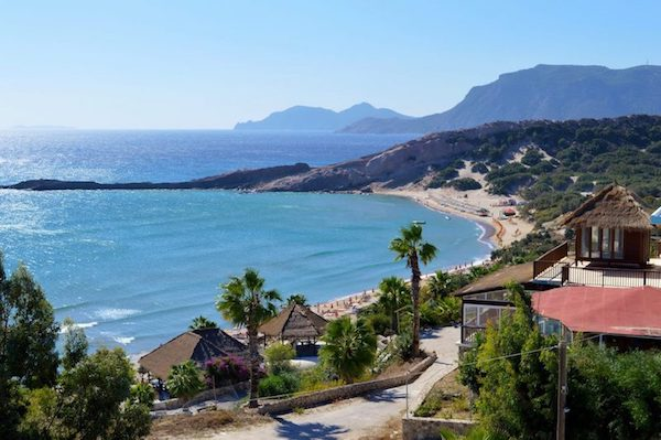 Best Mediterranean beaches off the beaten path in Paradise Beach in Kos Greece