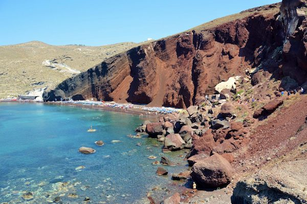 Best Mediterranean beaches off the beaten path in Santorini