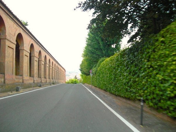 The portico up to San Luca