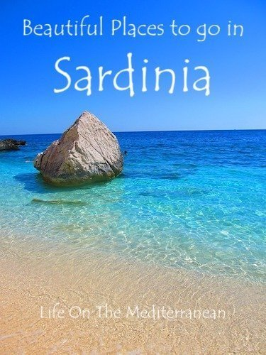 Beautiful places to go in Sardinia pin