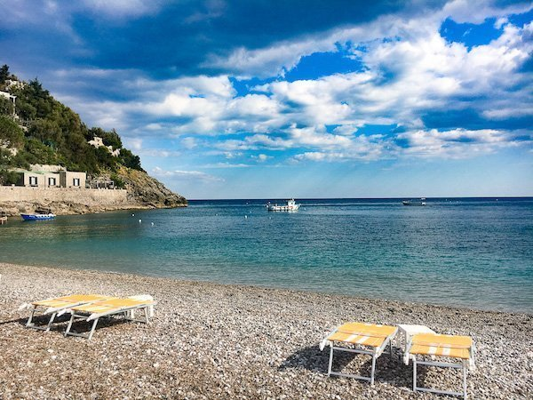 Nerano Beach Amalfi Coast