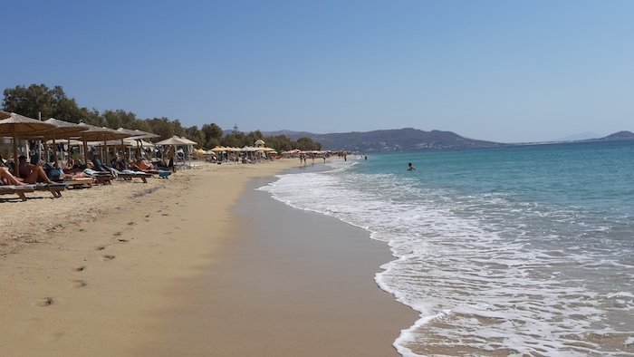 Agios Anna Beach Naxos Greece copy