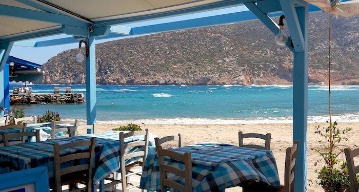 Apollonas Naxos Greece