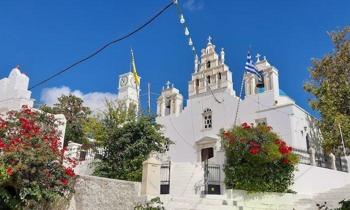 Church of Filoti Naxos Greece
