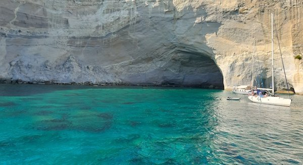 Grotto on Milos