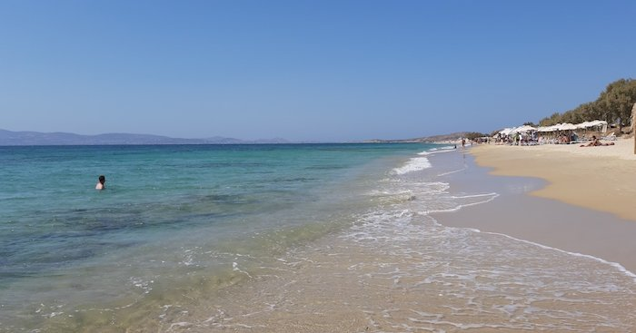 Maragas Beach area Naxos Greece