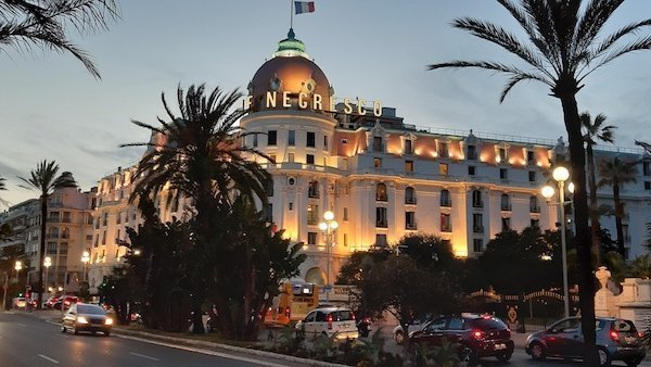 Luxury Hotel Negresco in Nice France