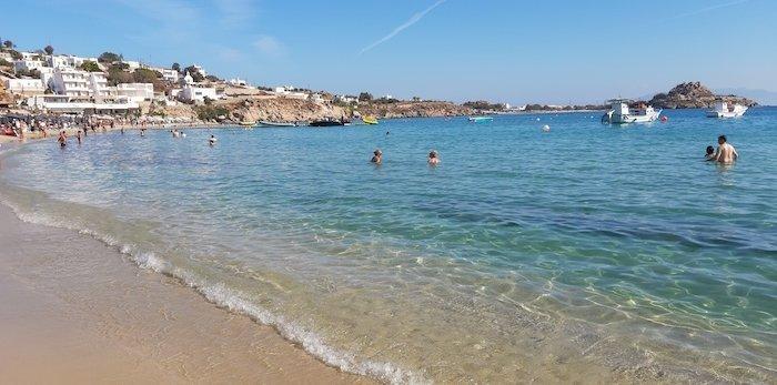 Platis Yialos Beach Mykonos