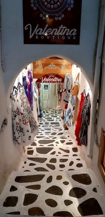 Boutique in Naxos