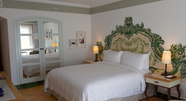 Double room at Pine Cliffs Portugal